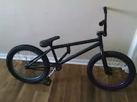 black and red BMX bike Chesapeake, 23324