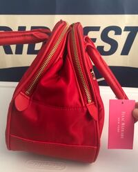 New never used! Isaac Mizrahi New York The Darla Collection Handbag Candy Apple Red Color! Annapolis, 21401