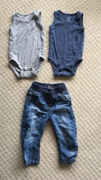 2 bodysuit onesies with jeans Whitby, L1M 1J5