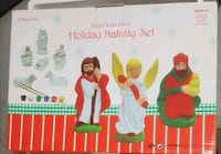 Holyday nativity set. Philadelphia