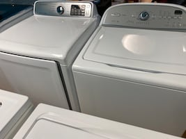 Whirlpool Top Load Washer and Electric Dryer Set