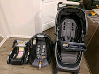 Chicco Bravo Stroller with Infant Seat Edmonton, T6W 0N5