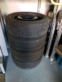 Michelin X-ice winter tires Whitby