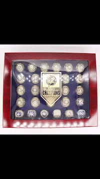 New York Yankees World 27 Series replica ring set with case Glen Cove, 11542