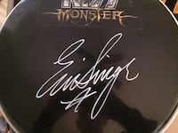 Autographed KISS Drumskin St Catharines, L2P 2J9