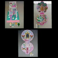 3x Complete Sets Vintage Polly Pockets Aurora, L4G 4P3