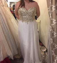 Prom dress from Juniper London, N5W 2V9