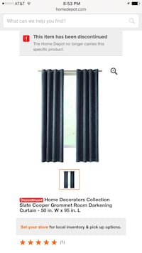 home decoration collection state copper grommet room darkening curtain Channelview, 77530