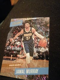 Jamal Murray Denver Nuggets trading card Saint Albans, 25177