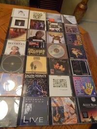 CD collection of 45 discs $45