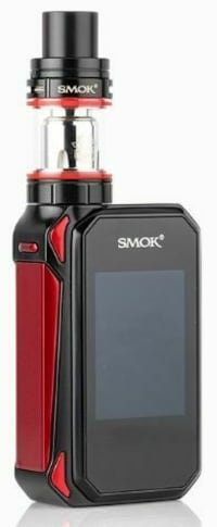 black and red Smok Alien box mod kit