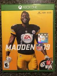 EA Sports Madden NFL 15 Xbox One game case Raleigh, 27616