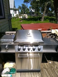 Char-Broil stainless steel propane grill