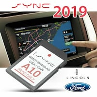 Ford/Lincoln Navigation Maps SD Card - 2019-Version A10 Vaughan