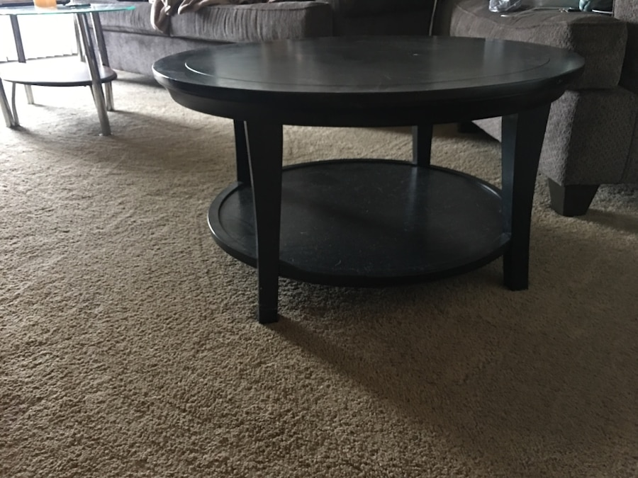 Used black pier 1 coffee table needs gone in canton for Table 6 in canton