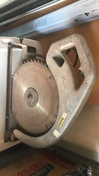 "16"" commercial makita circular saw works great fairly new blade"