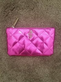JUICY COUTURE Pink bag/clutch/make-up/travel Burnaby
