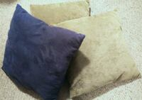 3 Cushions For Only $8!!! Red Deer, T4P 4G5