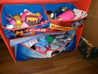 used paw patrol toy box, bought off used site for  Victoria, V9B 0G9