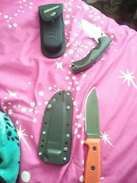 ESEE-4 fixed blade and field & stream knifes