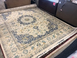 New Hasking Oriental Blue Area Rug By nuLoom