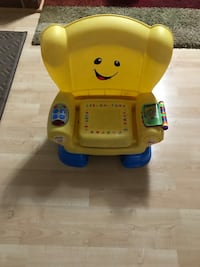 Yellow and blue interactive toddler chair Lorton, 22079