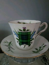 Campbell family china teacup and saucer Hamilton, L8L 7R4