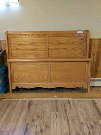 Queen Size Sleigh Bed Frame