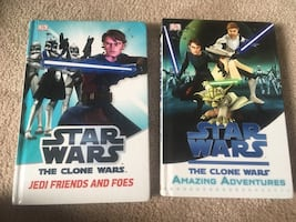 Star Wars Hardcovers in great shape.  For the fan to enjoy, great novels.  Sell, I will!