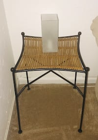 2 wicker and metal side chairs only.  $15 each.  Must be able to pick up from Stafford, VA. Stafford, 22556