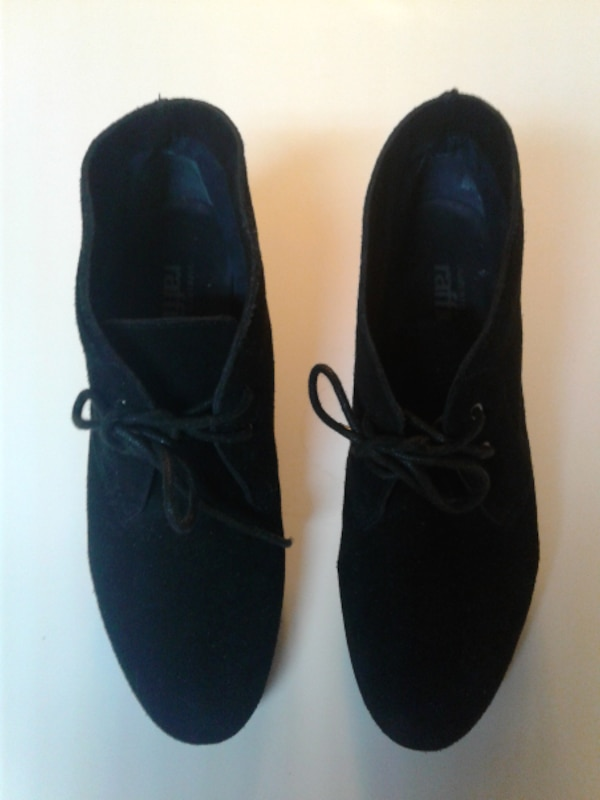 77f7693028af Used pair of black suede shoes for sale in Tucker - letgo