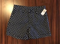 Girls' Gap navy shorts with white polka dots - size 14 Oshawa, L1K 1W6