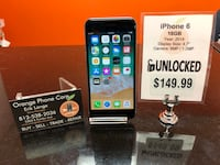 Unlocked / Any Carrier iPhone 6 16GB Temple Terrace, 33617