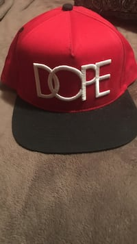 Red and black chicago bulls fitted cap Ocean City, 21842
