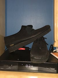 pair of black Adidas Yeezy Boost 350 V2 with box Silver Spring, 20906