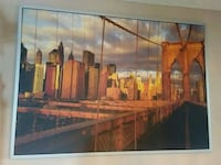 painting of Brooklyn bridge Brampton, L6T 3W2