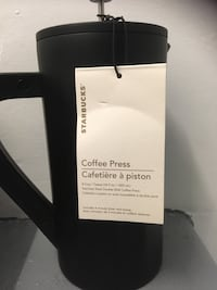 *NEW STARBUCKS COFFEE PRESS Toronto, M4H 1L5