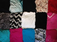 LIKE NEW...WOMENS 1XL..SHIRTS...(ALL ARE SUMMER SHIRTS) New Bethlehem