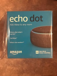 Amazon echo dot 3rd generation Marysville, 43040