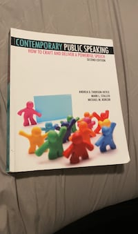 COMMB1 Public Speaking Book Bakersfield, 93311