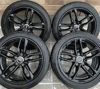4 x 225/45/17 EXCELLENT CONDITION MICHLINE TIRES AND AUDI RIMS $850 London, N6A