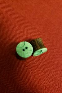 Cute green button plugs Sacramento, 95816