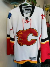 Official Calgary Flames Jersey  Stony Plain