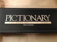Game of Pictionary, first edition Delta, V4E 2Y2