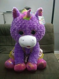 HugFun Jumbo Fun Plush Violette the Rainbow Unicor Los Angeles, 90028