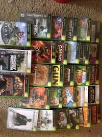 Original Xbox games.   West Friendship, 21794