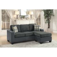 Slater Gray Reversible Sofa Chaise | 8401 Houston, 77036