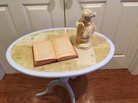 Antique upcycled side table Charlottesville, 22911