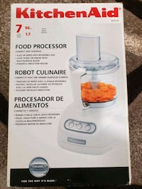 New Kitchen Aid Food Processor  Calgary