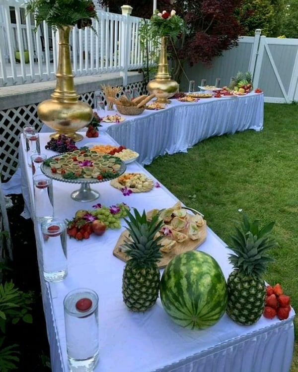 Wedding catering 2